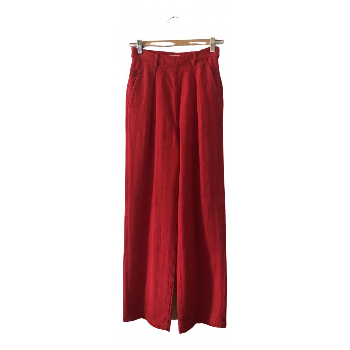 Pantalon largo de Lino Masscob
