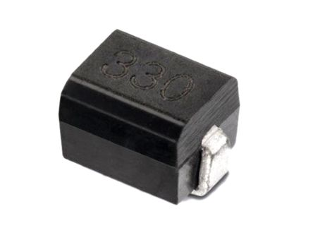 Wurth Elektronik Wurth, WE-GFH, 3225 Wire-wound SMD Inductor with a Iron Core, 4.7 μH Moulded 800mA Idc Q:30 (10)