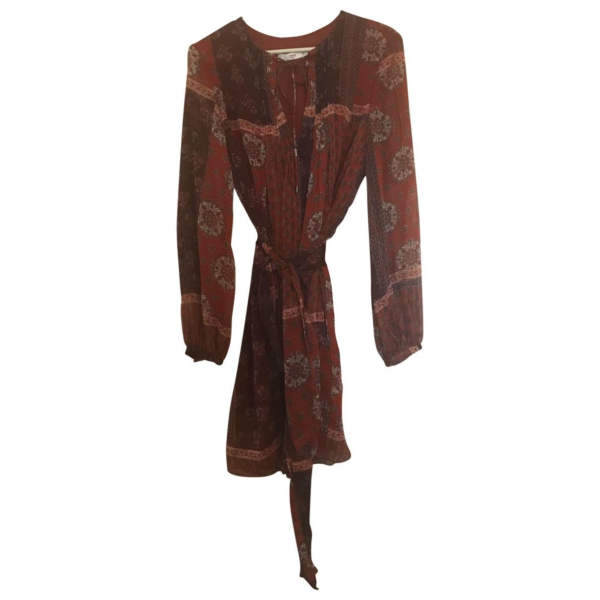 Mango \N Burgundy dress for Women M International