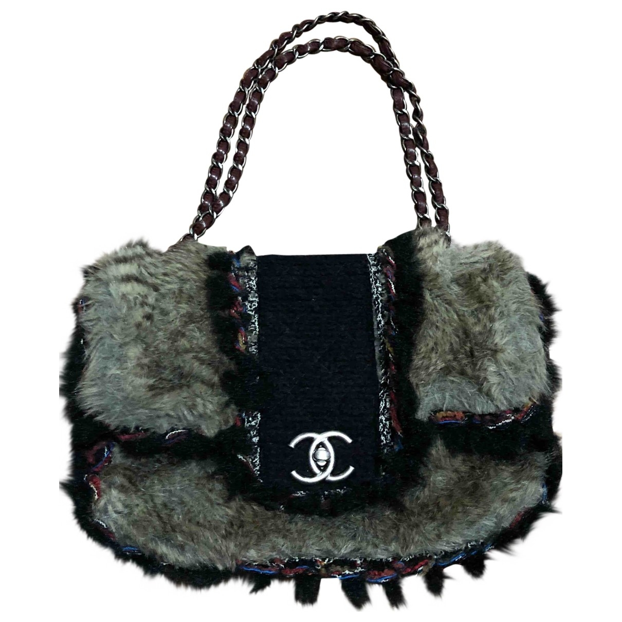 Chanel \N Wool handbag for Women \N