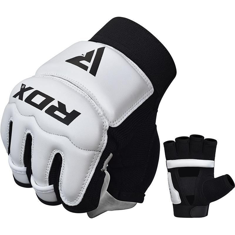 RDX T2 Gants de Taekwondo X Grande blanc Cuir PU