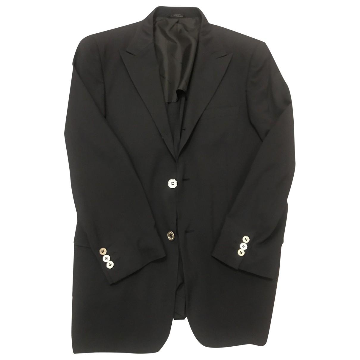 Versace Jean - Vestes.Blousons   pour homme en coton - noir