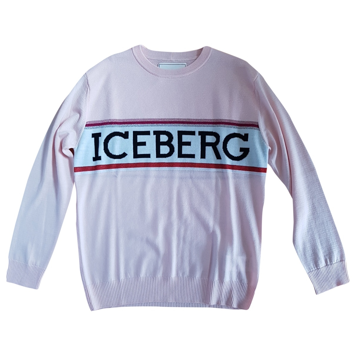 Iceberg \N Pullover in  Rosa Wolle