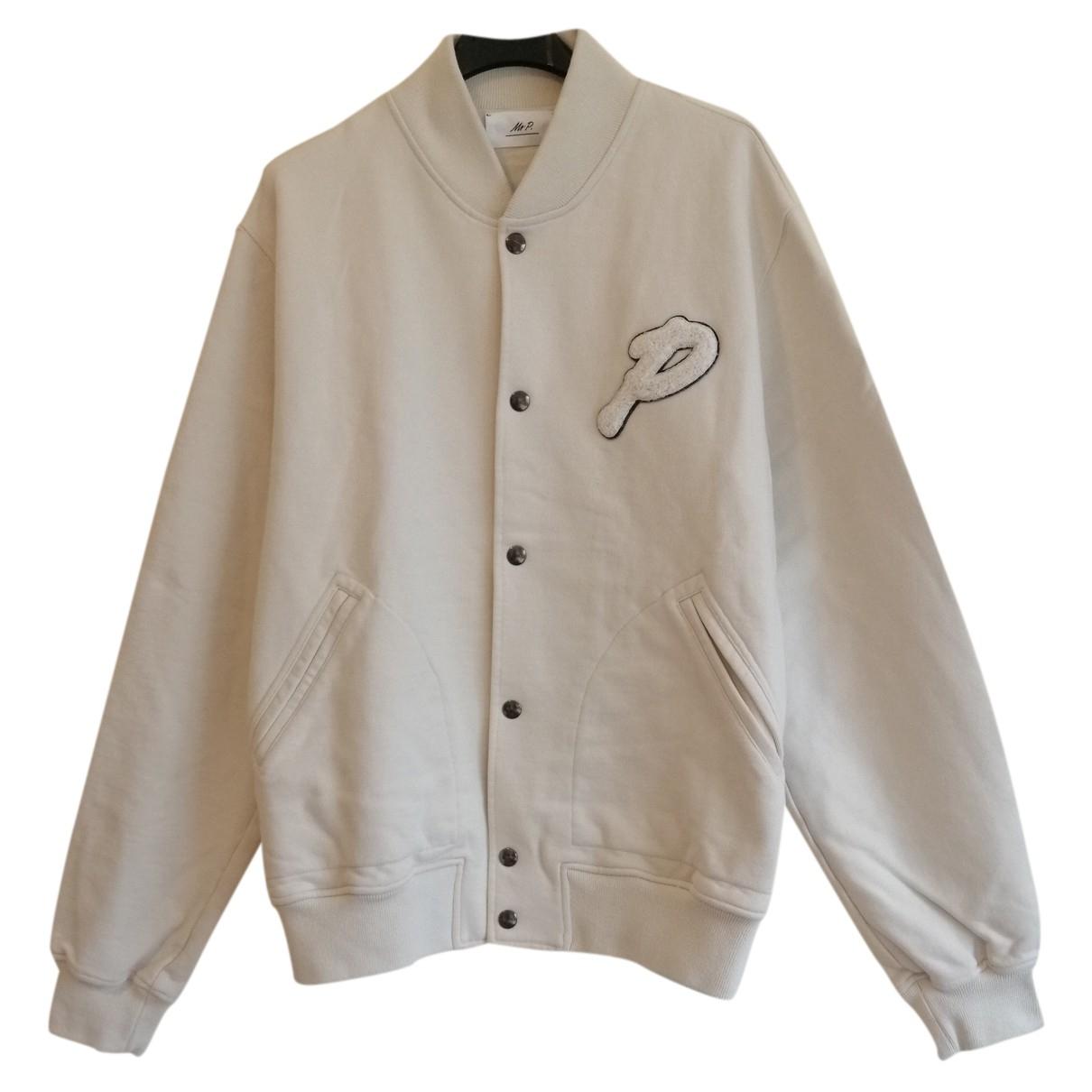 Mr P. - Vestes.Blousons   pour homme en coton - beige