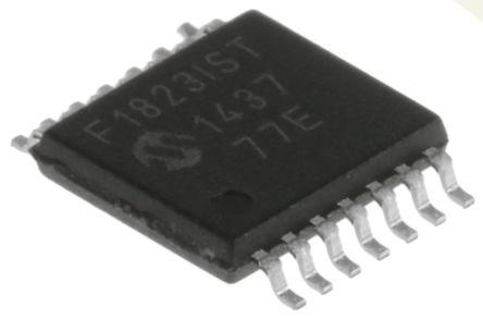 Microchip PIC16F1823-I/ST, 8bit PIC Microcontroller, PIC16F, 32MHz, 256 B, 2K x 14 words Flash, 14-Pin TSSOP