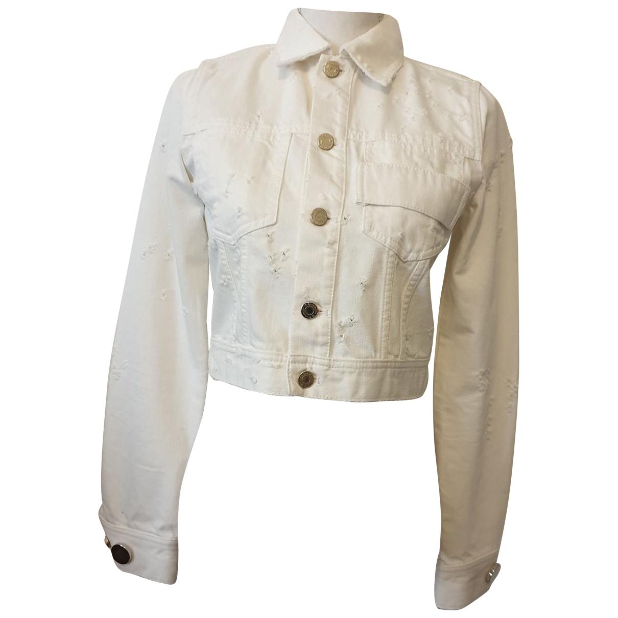 Givenchy - Veste   pour femme en denim - blanc
