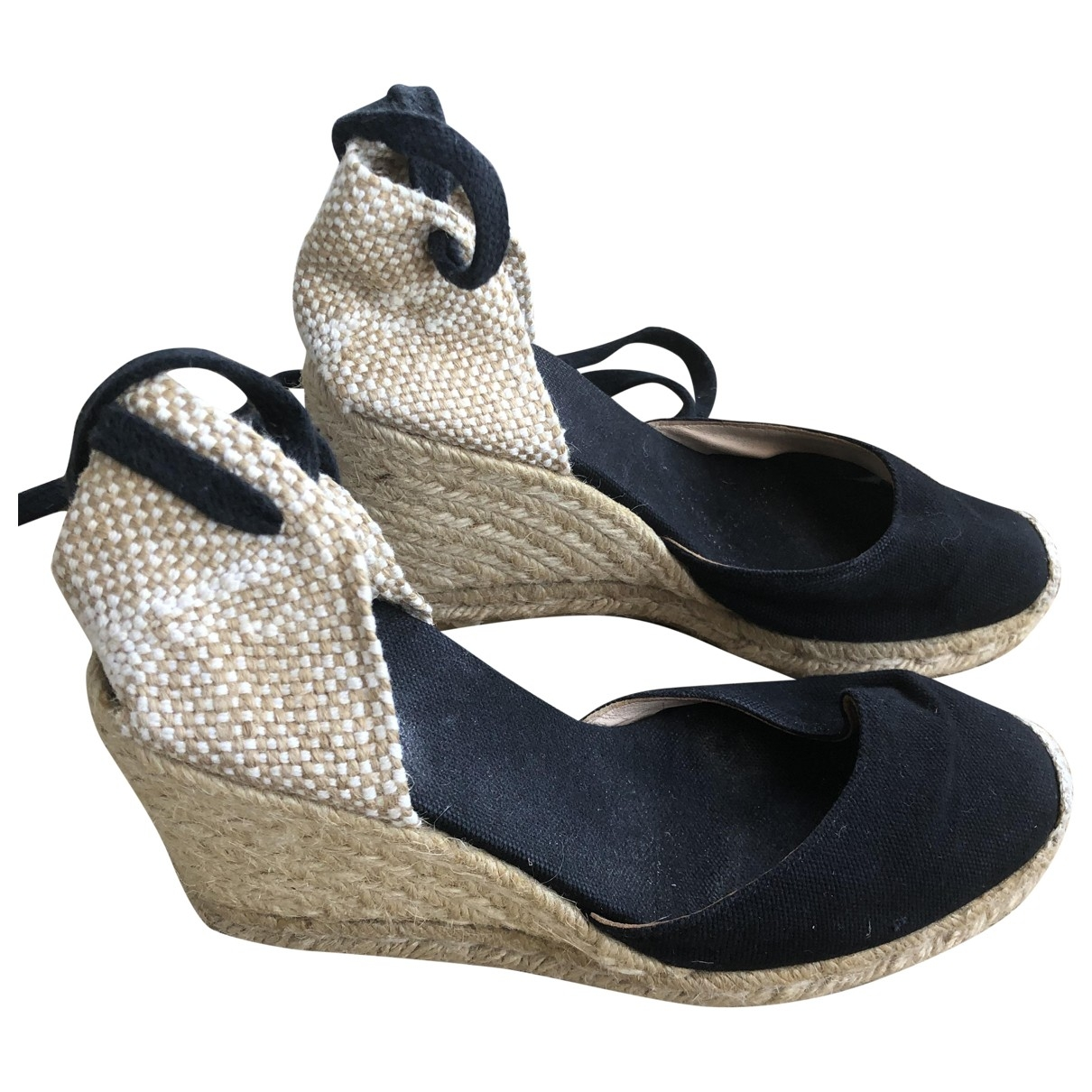 Castaner \N Black Cloth Espadrilles for Women 35 EU