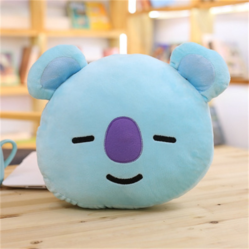 Funny Cartoon Creative Shape Soft Plush Toy Throw Pillow