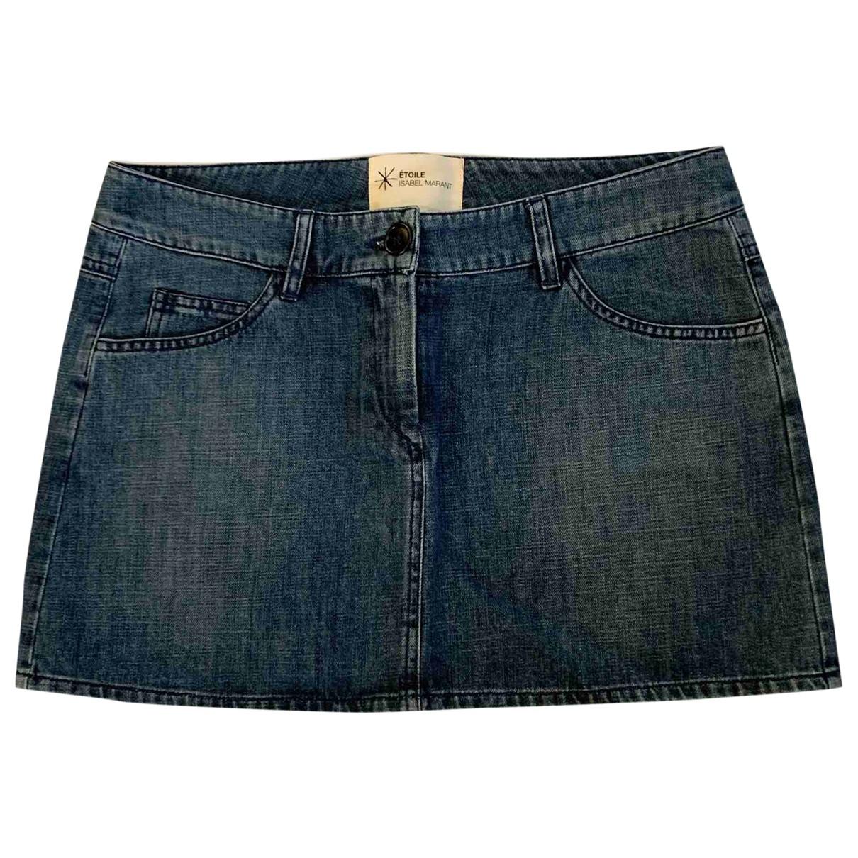 Isabel Marant Etoile \N Rocke in  Blau Denim - Jeans