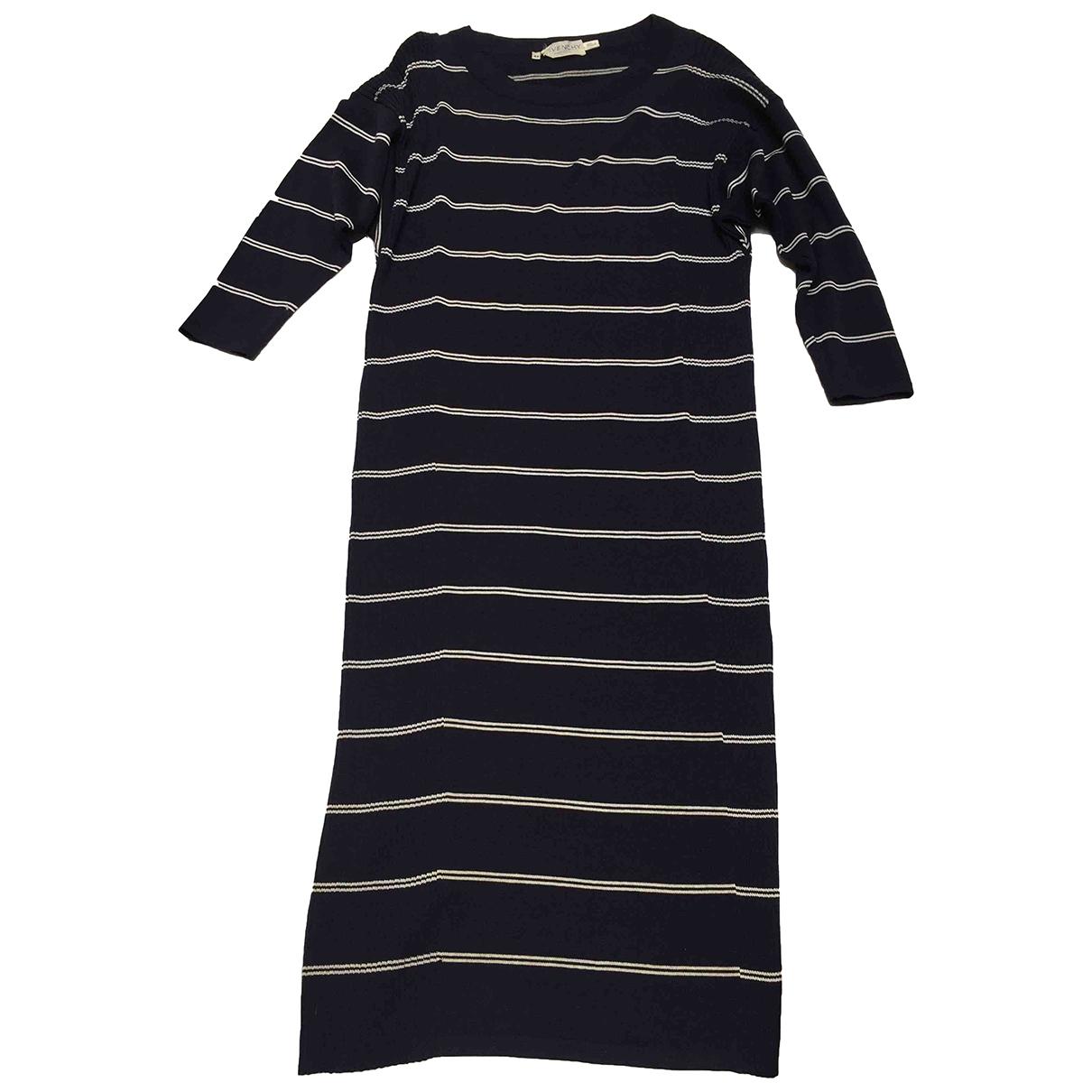 Givenchy - Robe   pour femme en laine - bleu