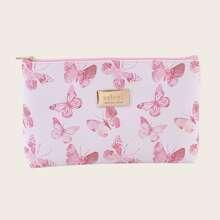 1 Stueck Makeup Tasche mit Schmetterling Muster