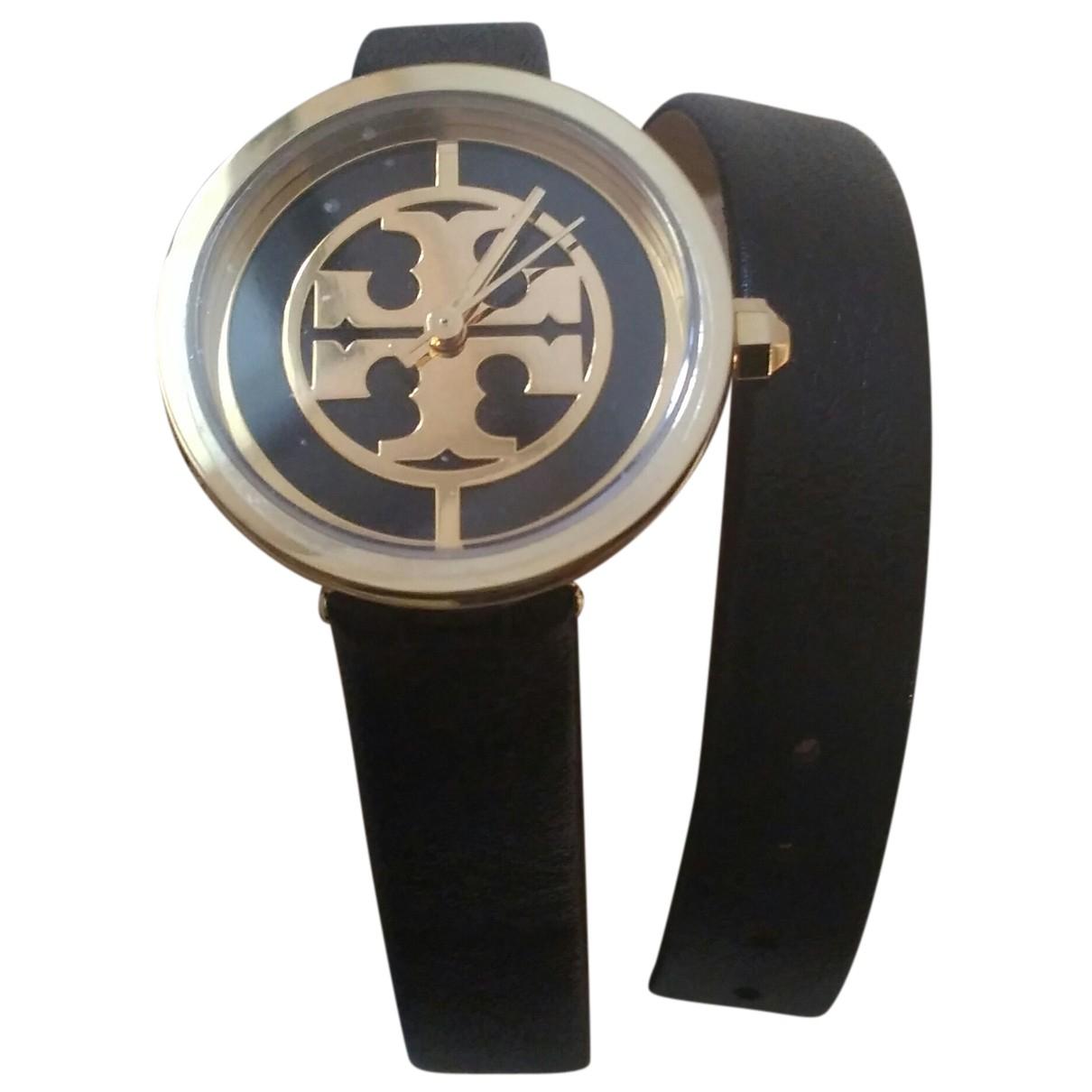 Tory Burch \N Uhr in  Schwarz Stahl
