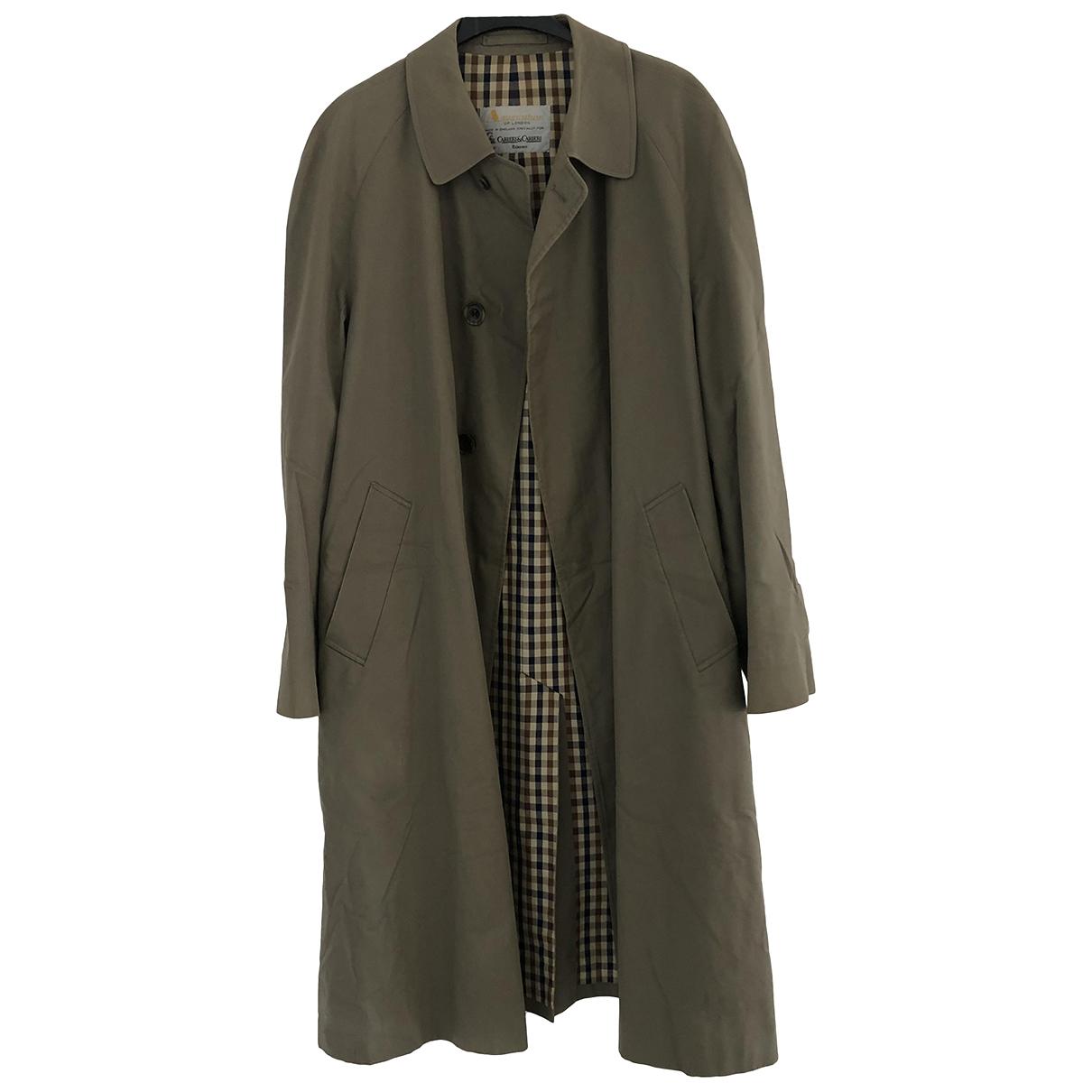 Aquascutum N Beige Cotton coat  for Men 42 UK - US