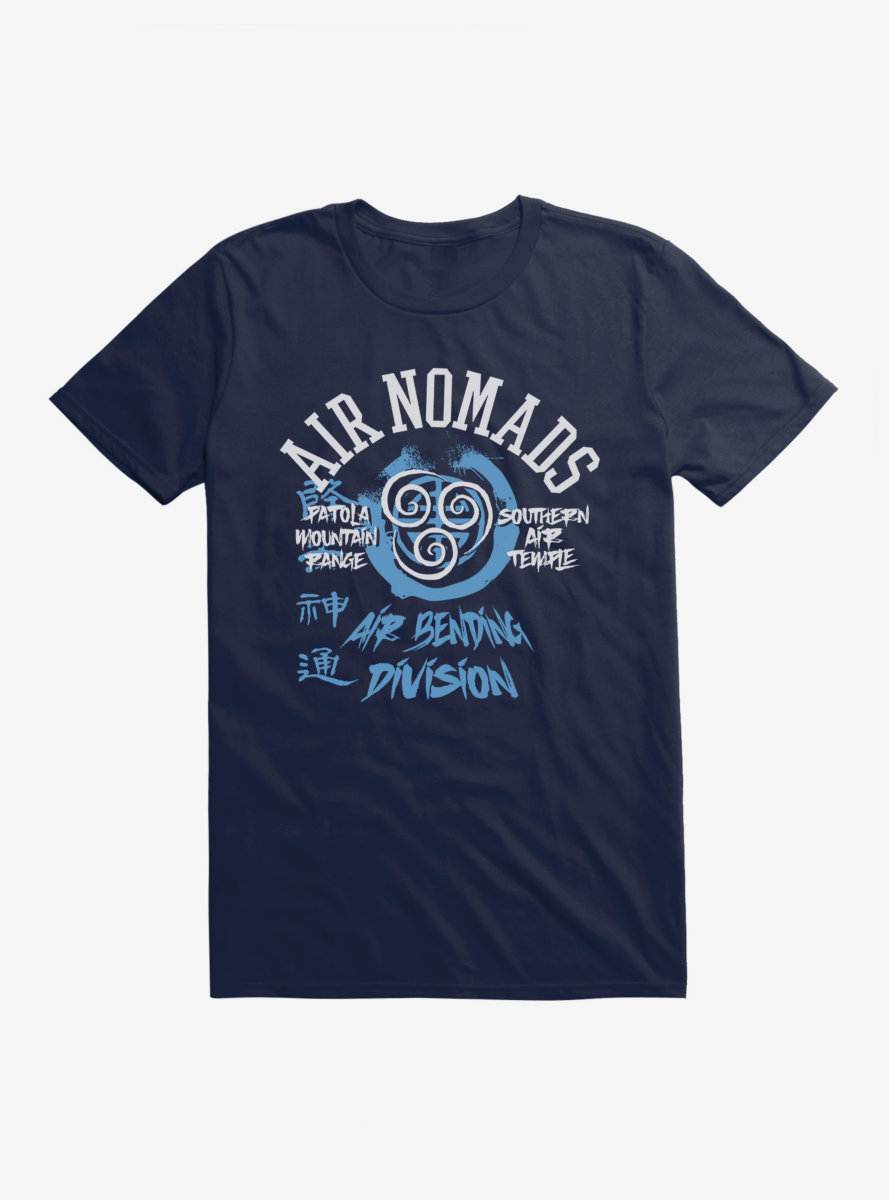 Avatar: The Last Airbender Air Nomads Air Benders T-Shirt