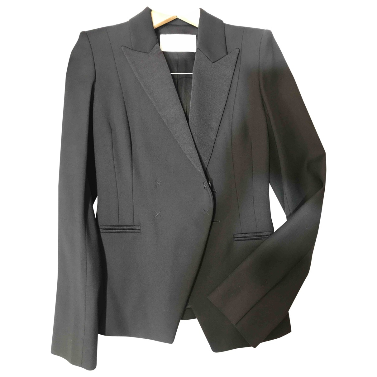 Amanda Wakeley \N Black Silk jacket for Women 10 UK