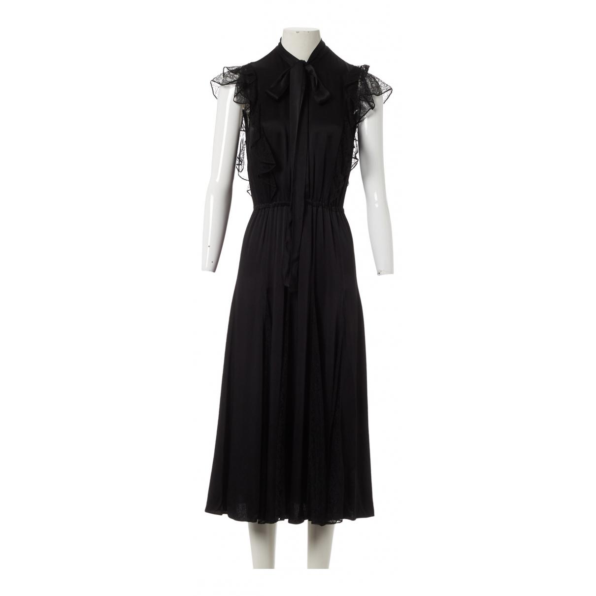 Michael Kors \N Kleid in  Schwarz Viskose