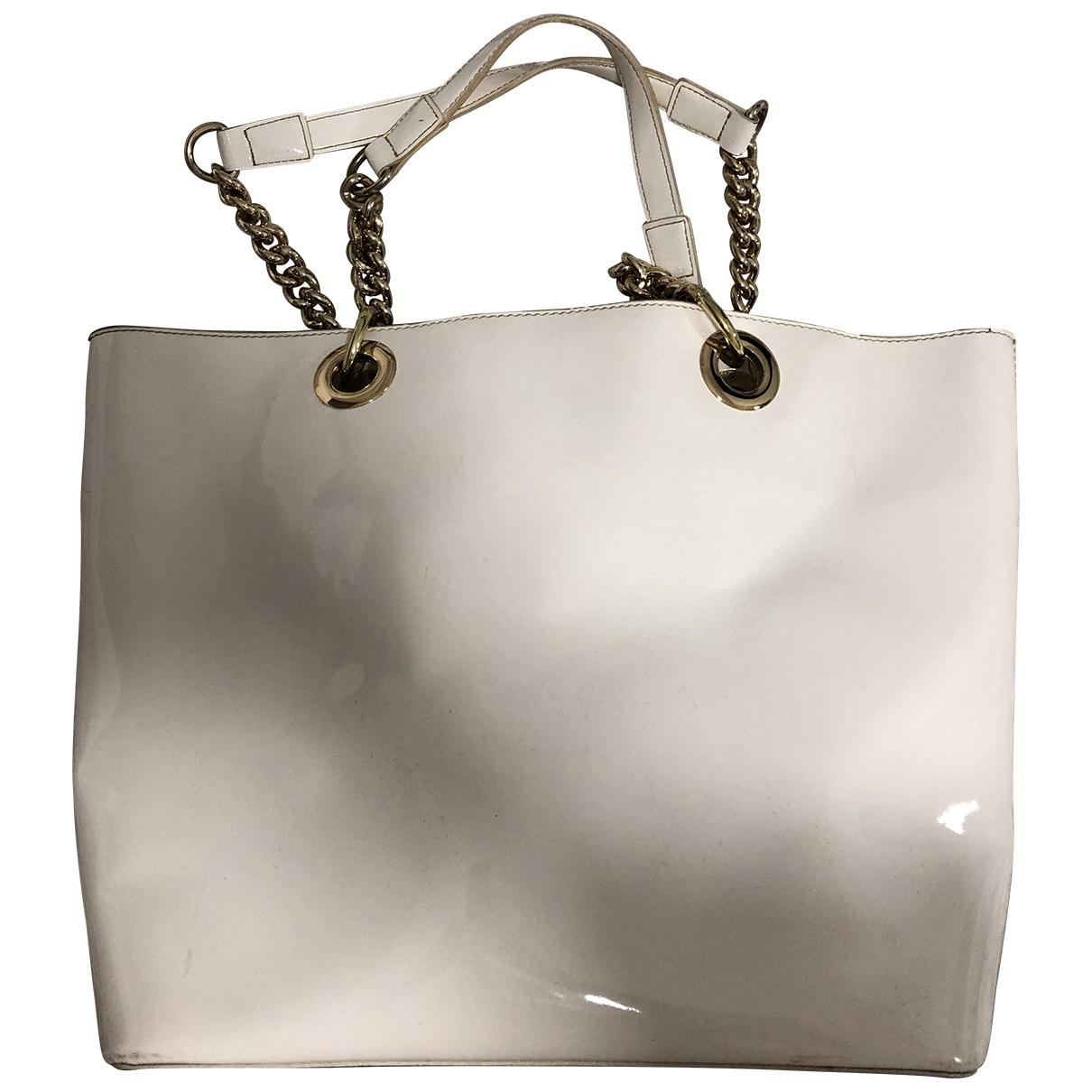 Dkny \N Patent leather handbag for Women \N