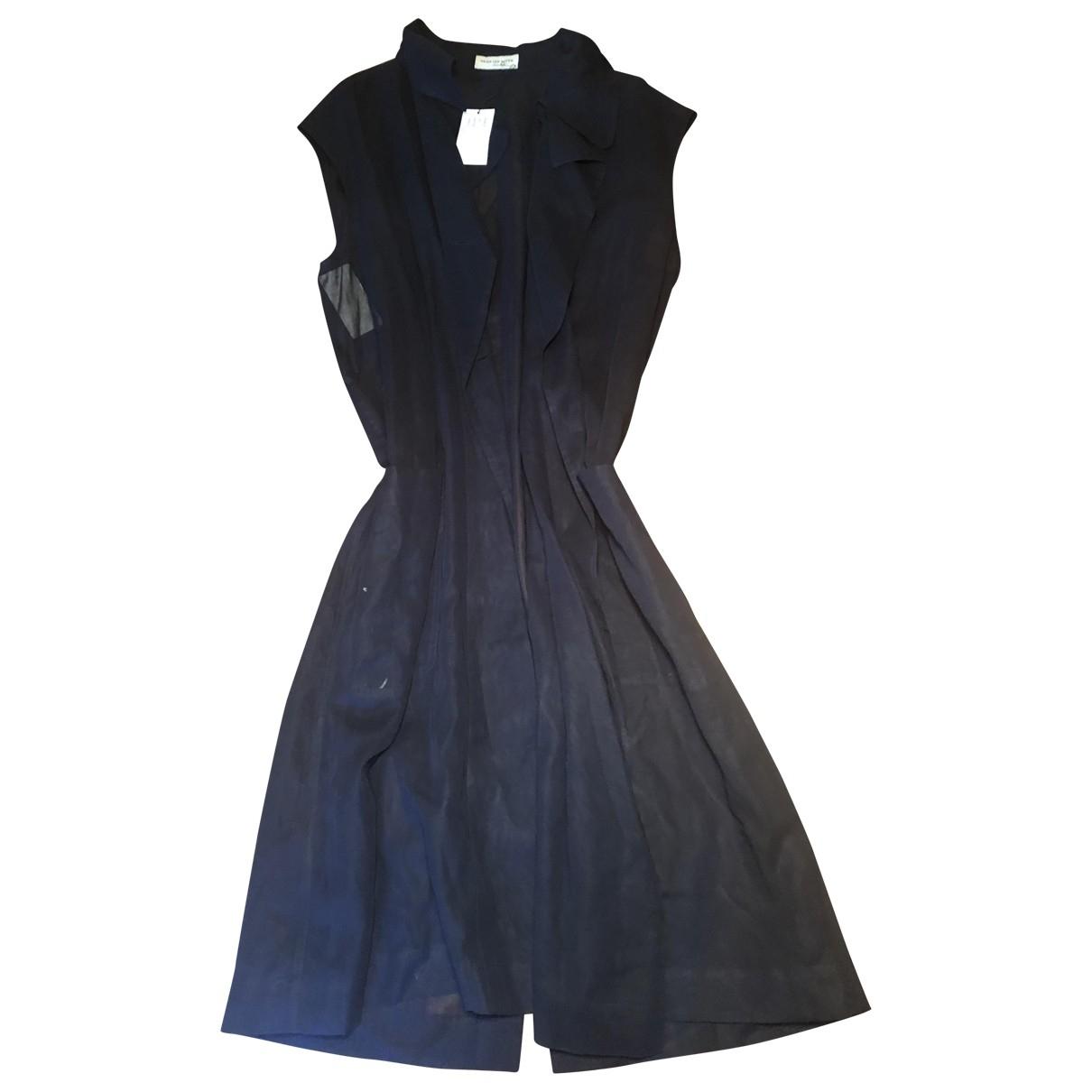 Dries Van Noten \N Blue Cotton Trench coat for Women M International