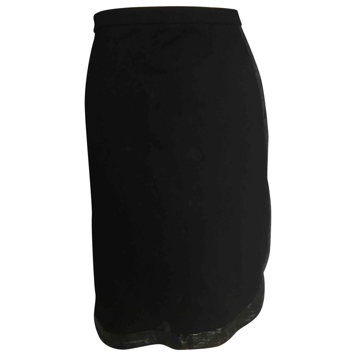 Givenchy - Jupe   pour femme en coton - noir