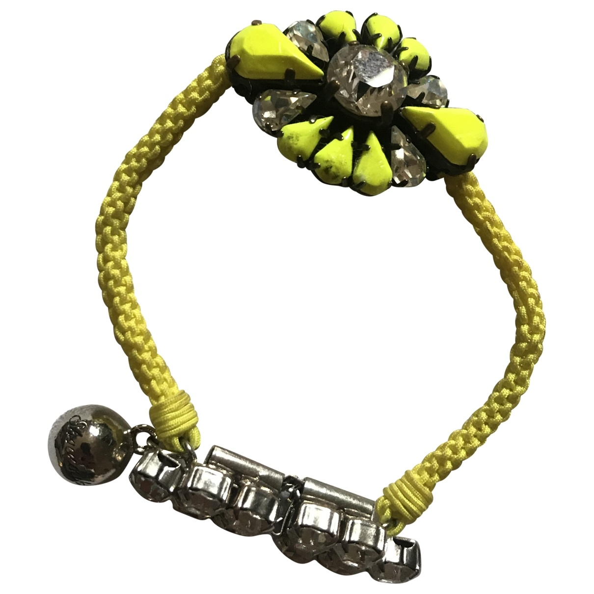 Shourouk \N Armband in  Gelb Kristall
