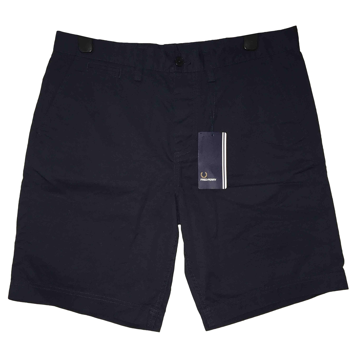 Fred Perry \N Blue Cotton Shorts for Men 32 UK - US