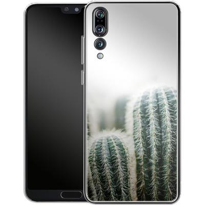 Huawei P20 Pro Silikon Handyhuelle - Cactus 1 von Mareike Bohmer
