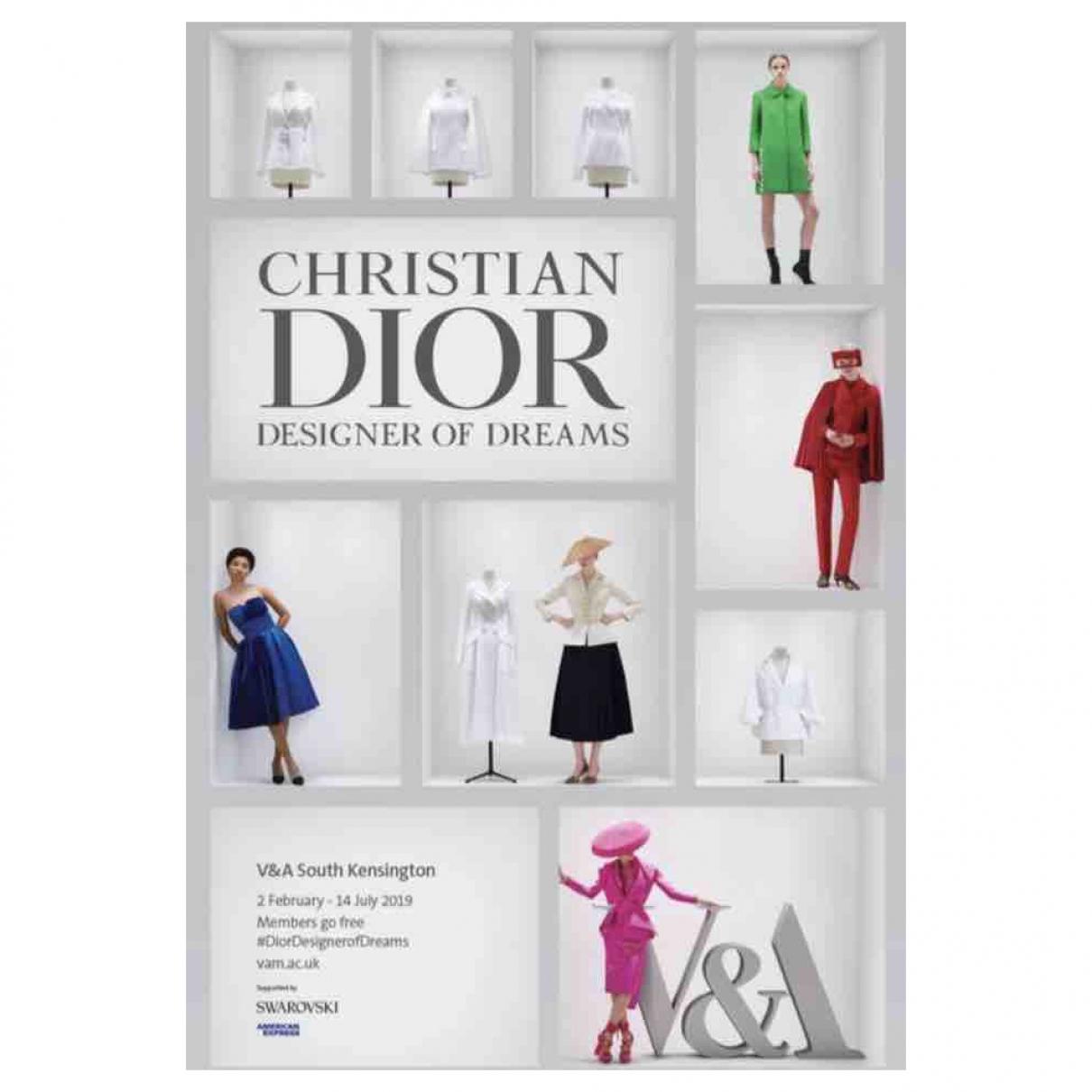 Dior - Photographie   pour lifestyle en coton - multicolore