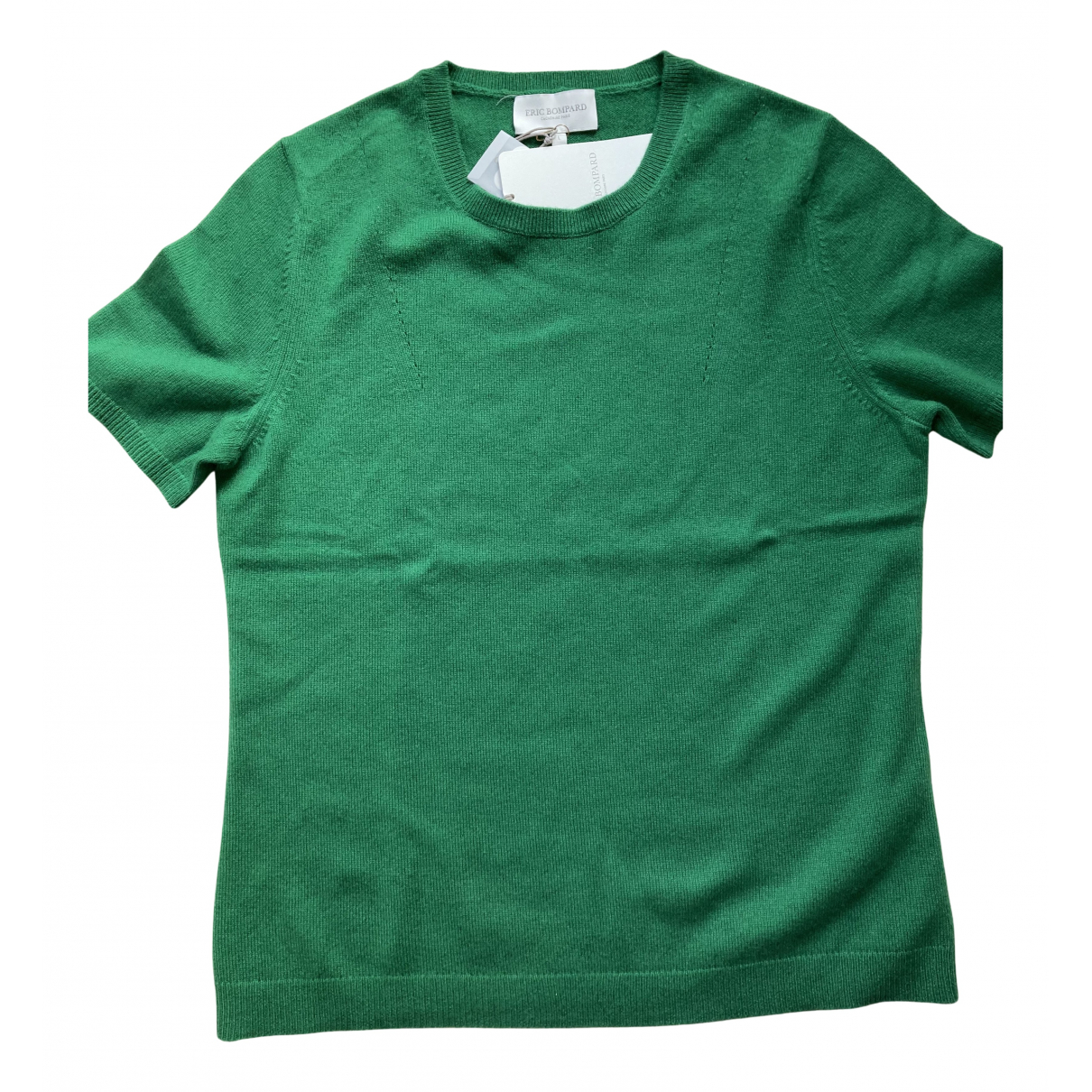 Eric Bompard - Pull   pour femme en cachemire - vert