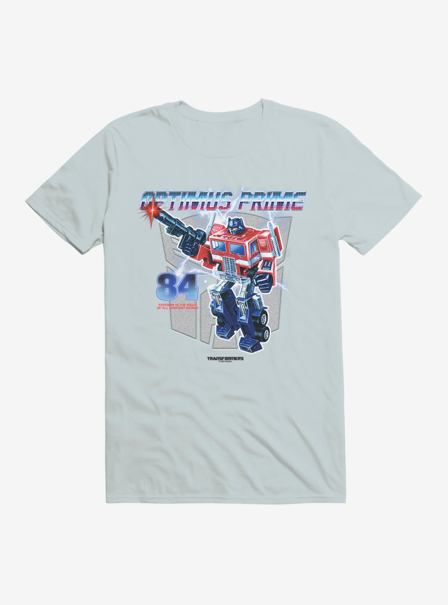 Transformers Optimus Prime The Right To Freedom T-Shirt