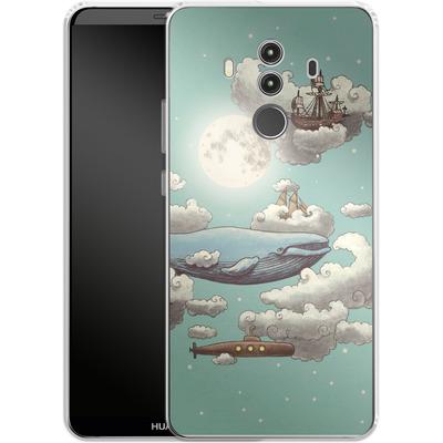 Huawei Mate 10 Pro Silikon Handyhuelle - Ocean Meets Sky von Terry Fan