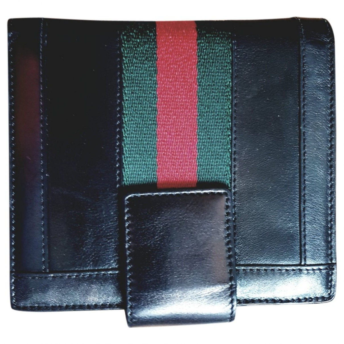 Gucci \N Multicolour Leather Small bag, wallet & cases for Men \N