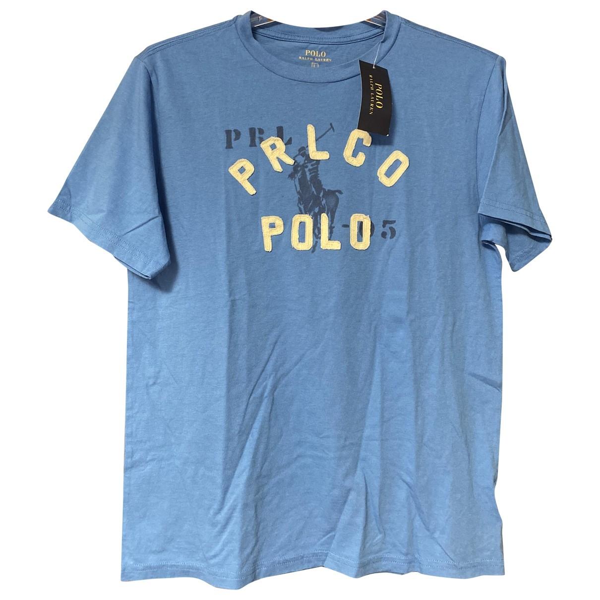 Polo Ralph Lauren - Tee shirts   pour homme en coton - bleu