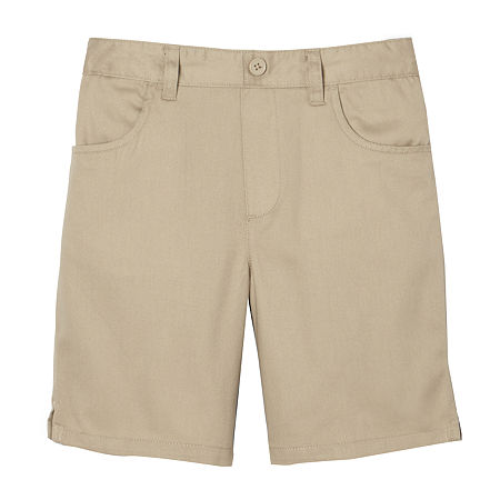 French Toast Little & Big Girls Pull-On Short, 10 , Beige