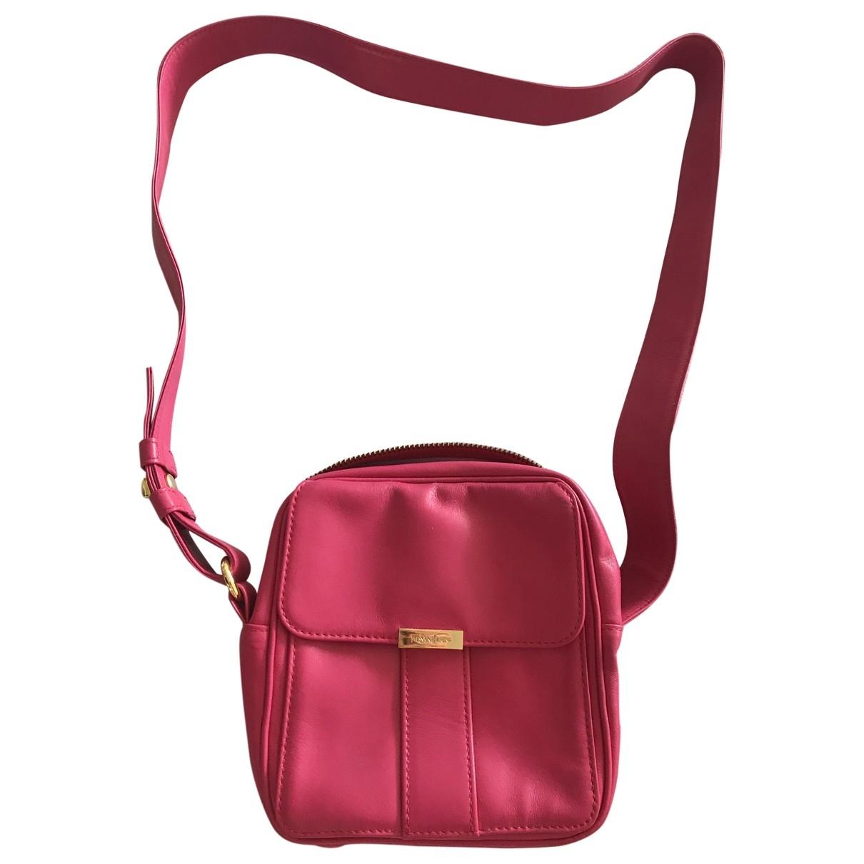 Yves Saint Laurent \N Pink Leather handbag for Women \N