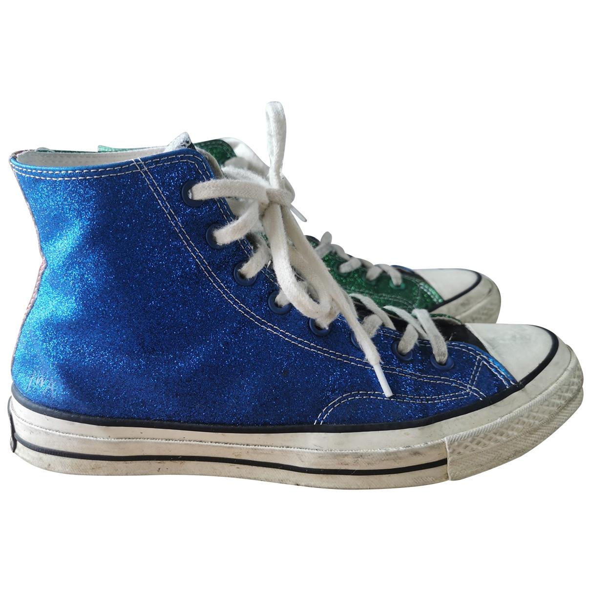 Converse X J.w Anderson \N Sneakers in  Gruen Mit Pailletten