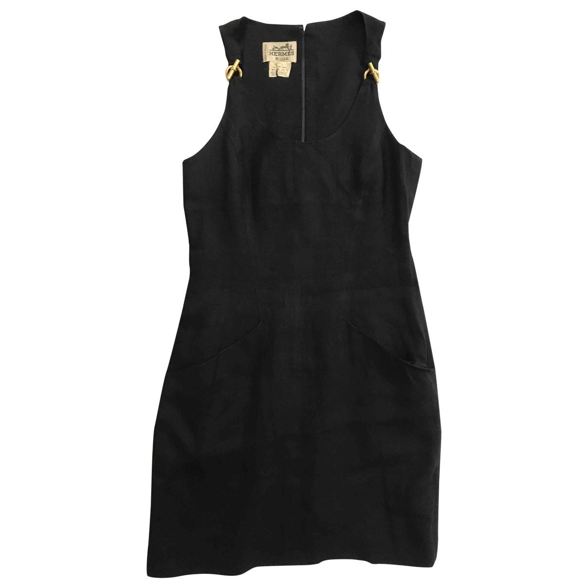 Hermès \N Linen dress for Women 40 FR