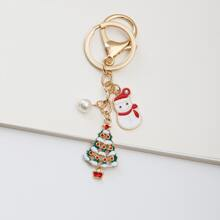 Christmas Tree Pendant Keychain