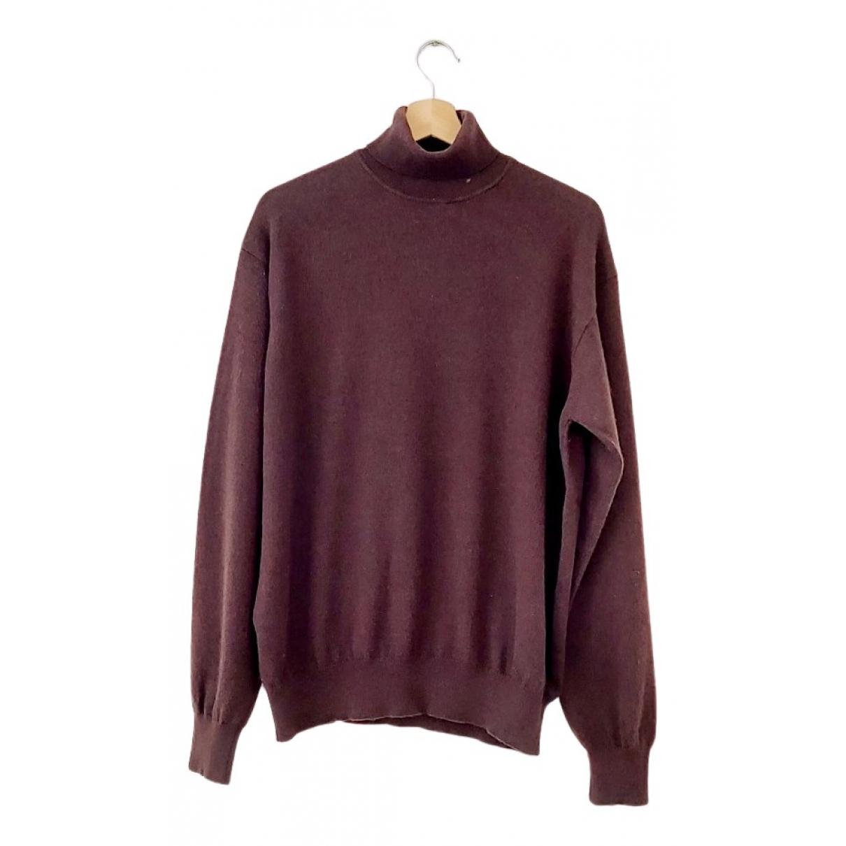 Corneliani \N Pullover.Westen.Sweatshirts  in  Braun Kaschmir