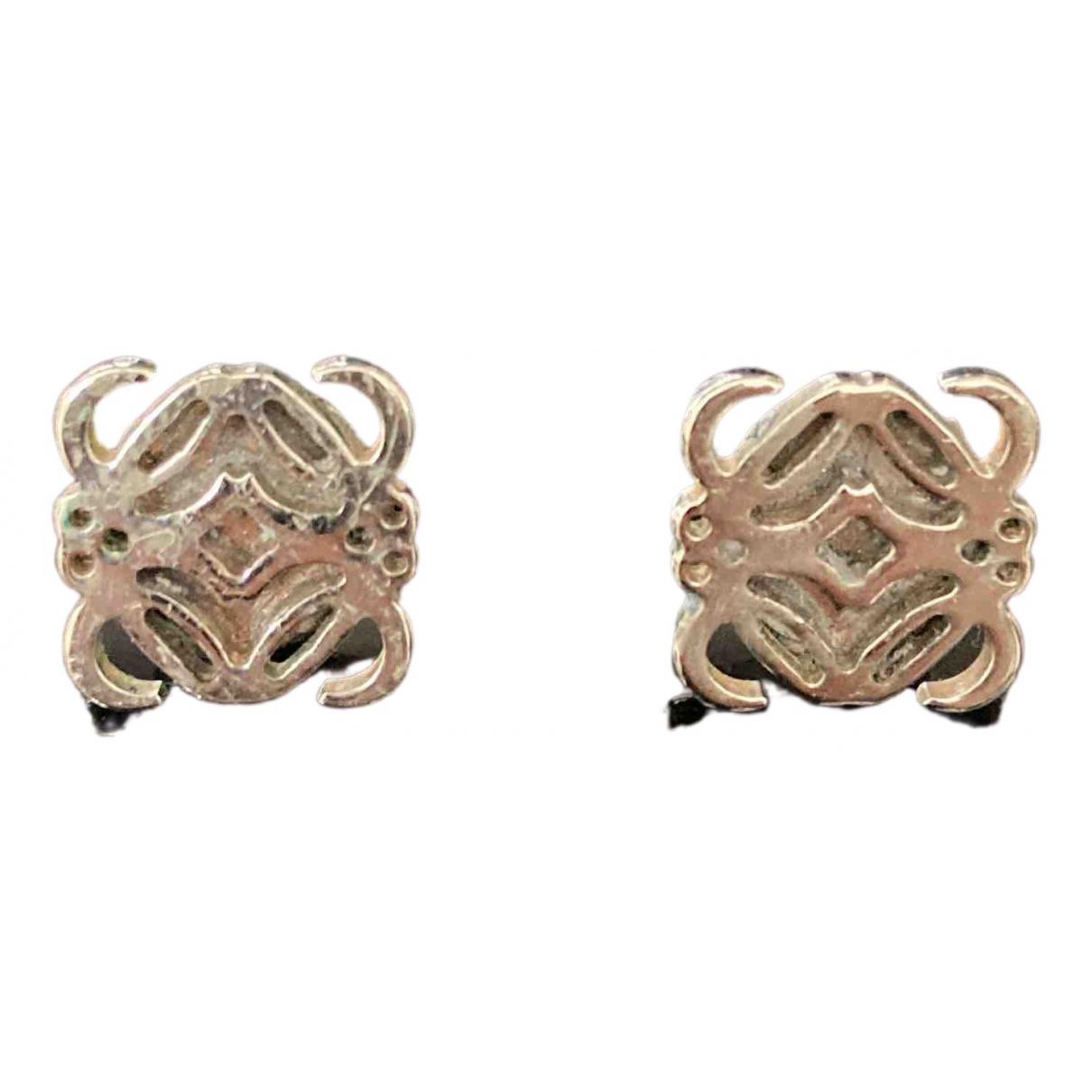 Loewe - Boucles doreilles   pour femme en metal - argente