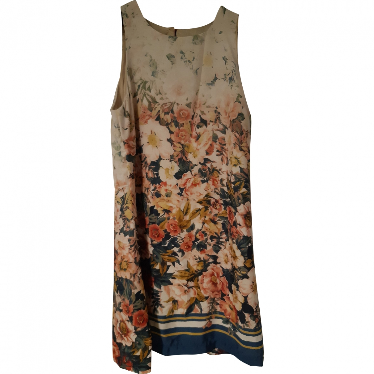 Non Signé / Unsigned \N Ecru dress for Women 44 IT