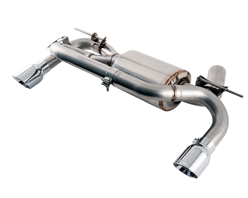 AWE Tuning 3010-33034 Touring Edition Axle Back Exhaust w/Diamond Black Tips 102mm BMW M235i F22 14-19