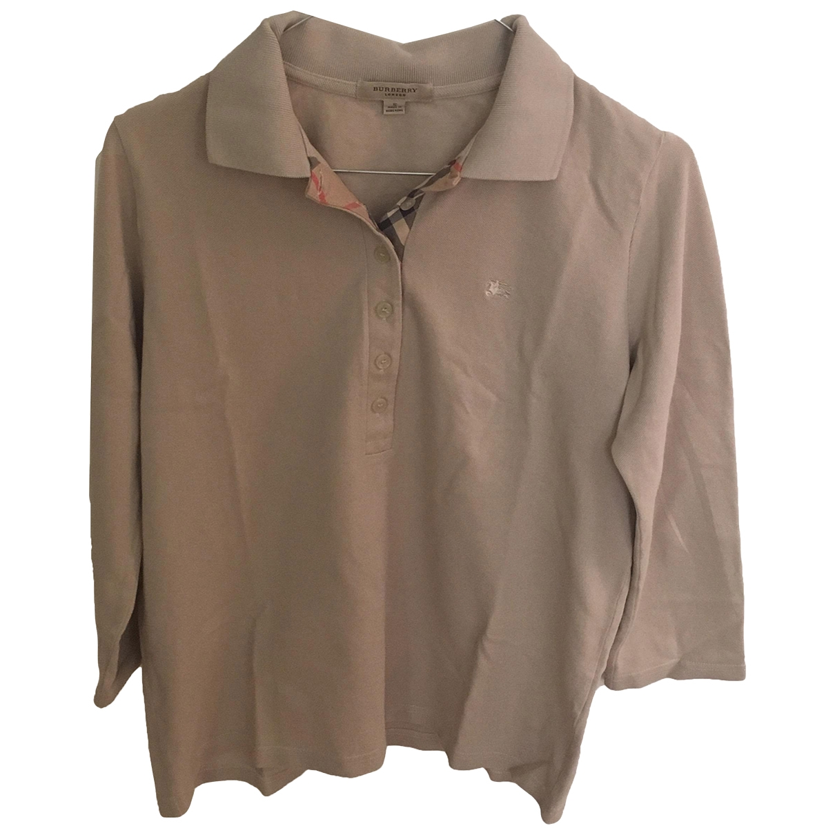 Burberry \N Khaki Cotton  top for Women S International