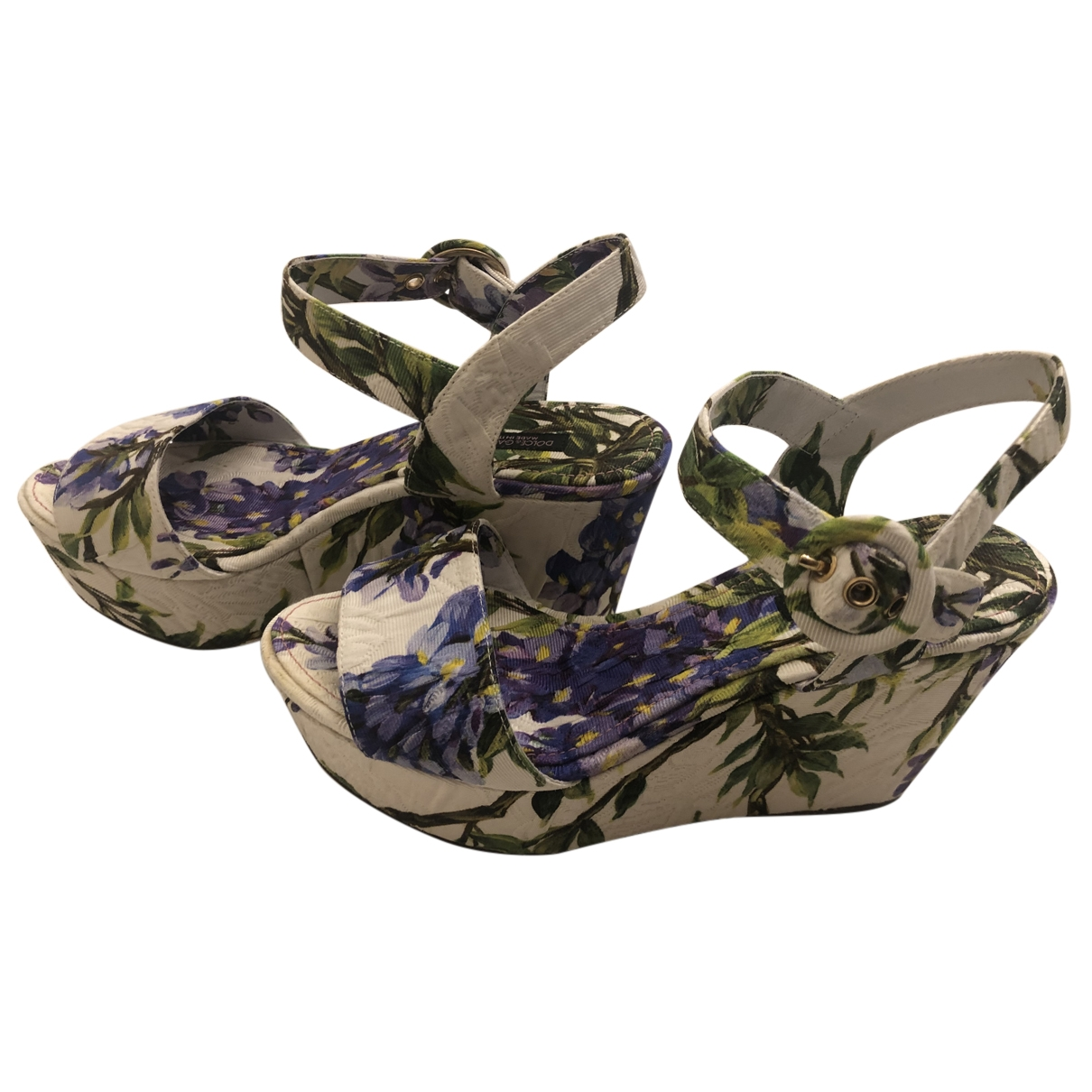 Sandalias romanas de Lona Dolce & Gabbana