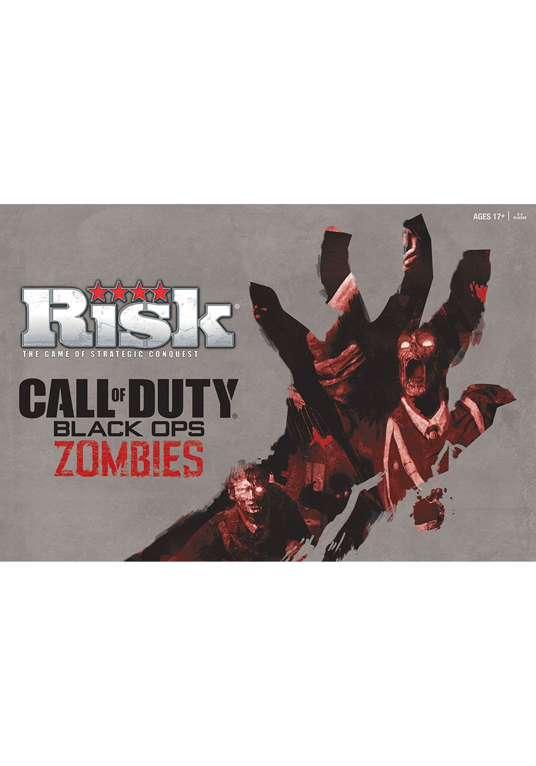 Call of Duty Black Ops Zombies Risk Board Game