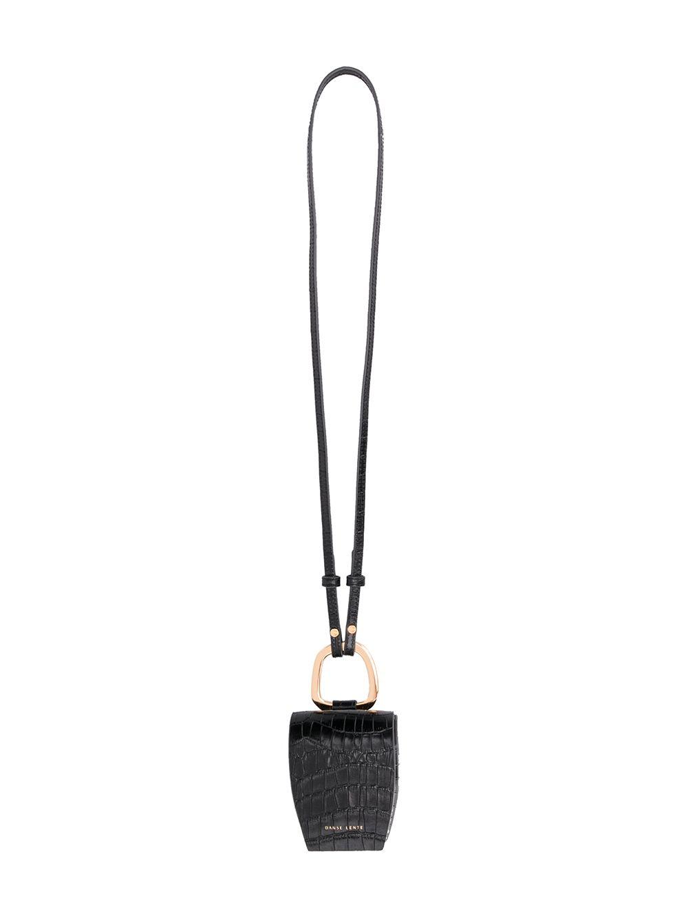 Magnetic Box Leather Crossbody Bag