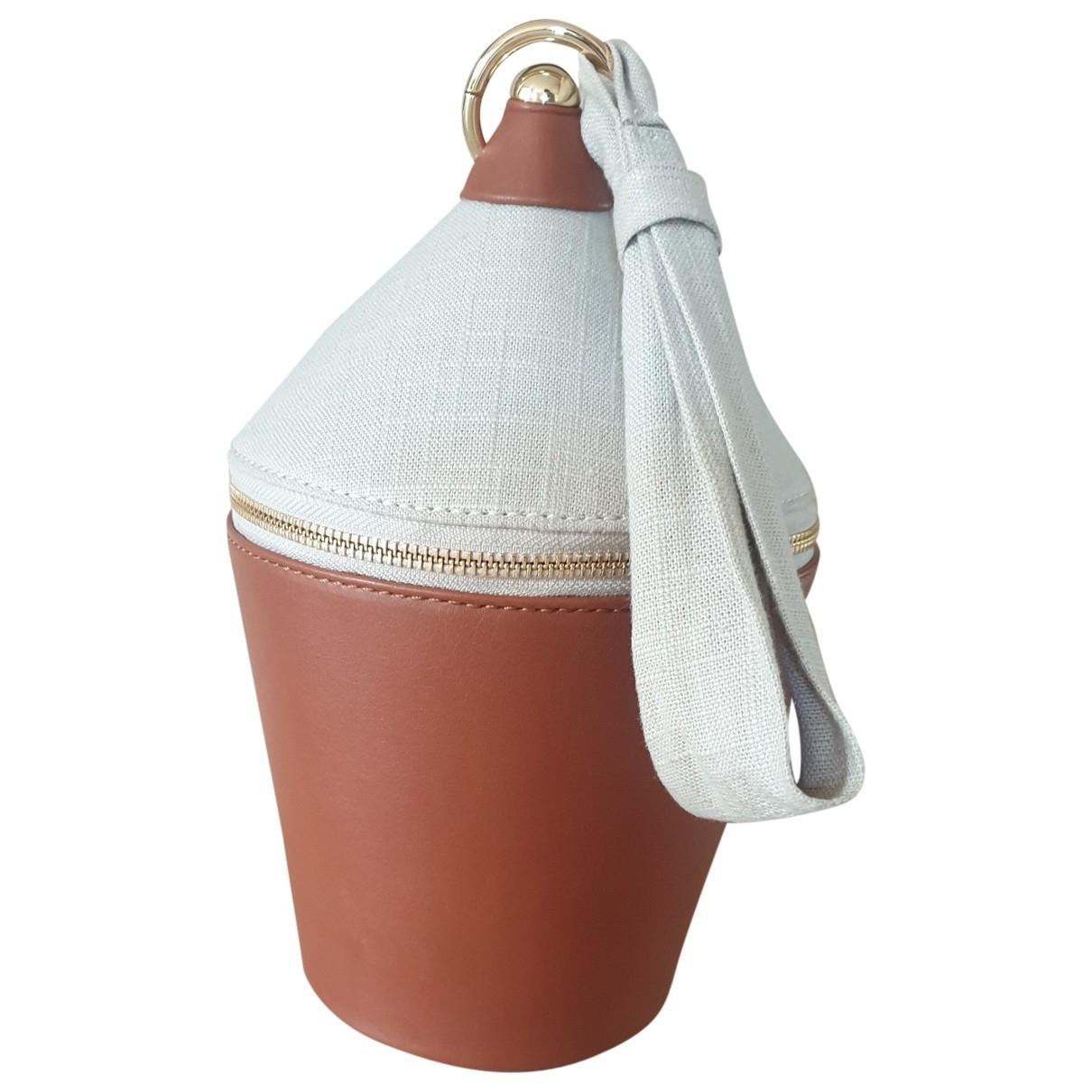 Staud Minnow Brown Leather handbag for Women \N