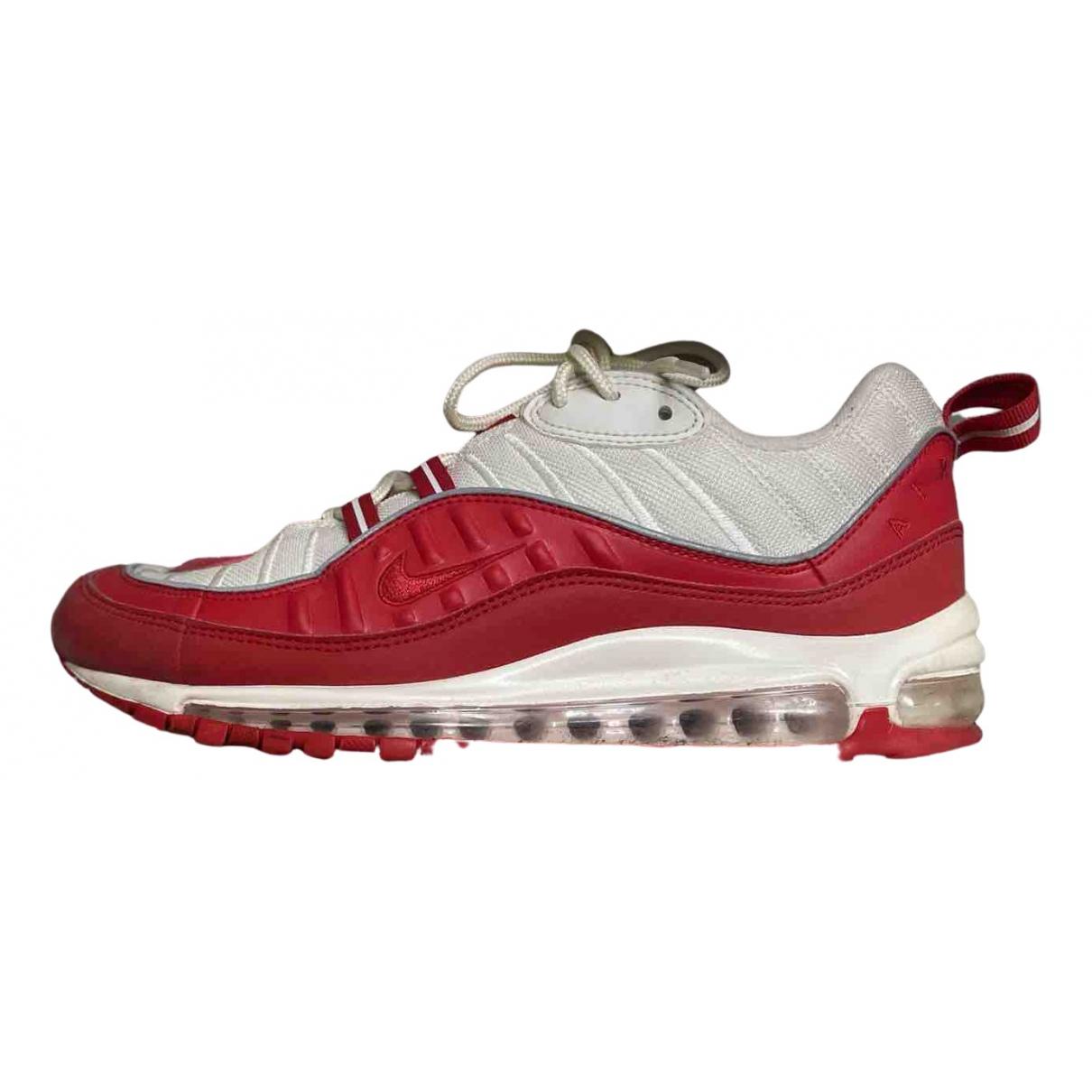 Nike - Baskets Air Max 98 pour homme en toile - rouge