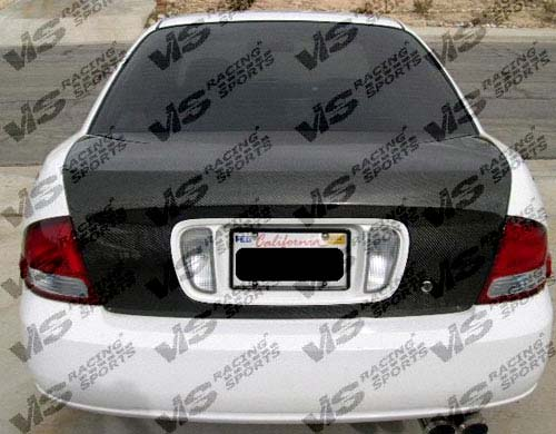 VIS Racing 00NSSEN4DOE-020C Carbon Fiber OEM Trunk Lid Nissan Sentra 00-04