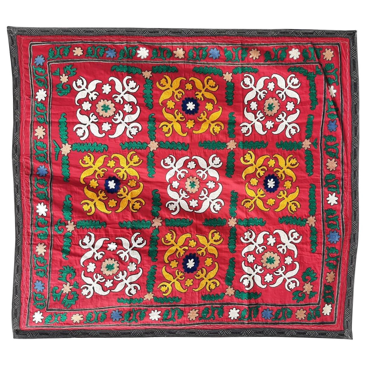 - Objets & Deco   pour lifestyle en coton - rouge