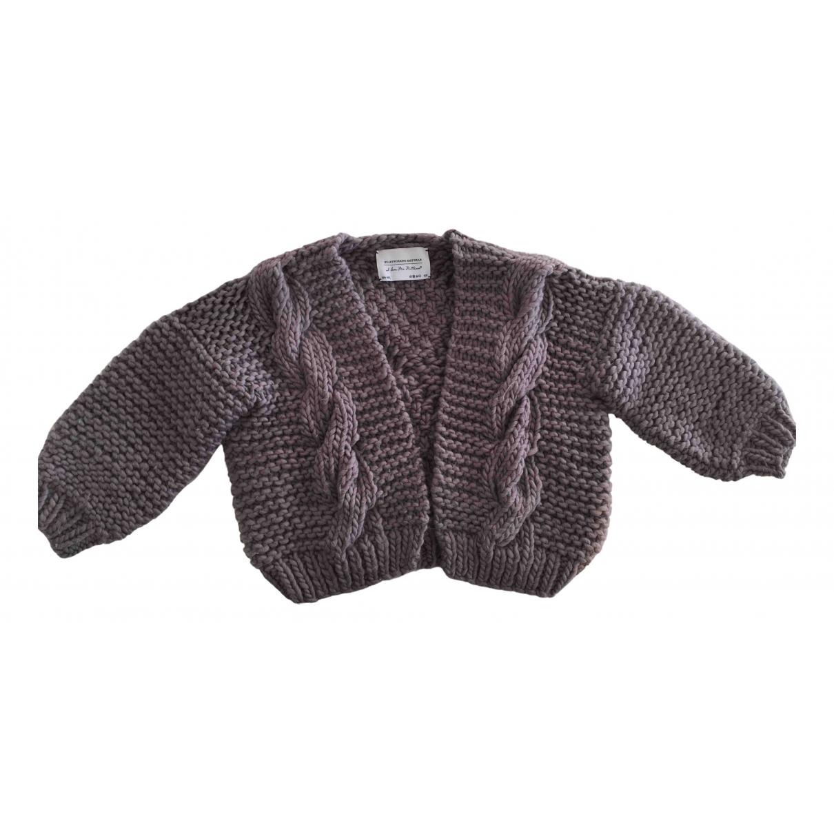 I Love Mr Mittens - Pull   pour femme en laine - violet